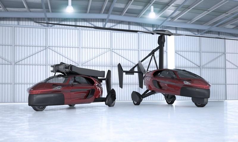 Голландцы предложили рынку летающий автомобиль