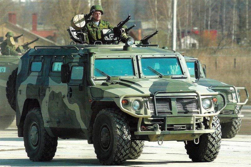 Бразильский спецназ использует в фавелах российские броневики «Тигр»