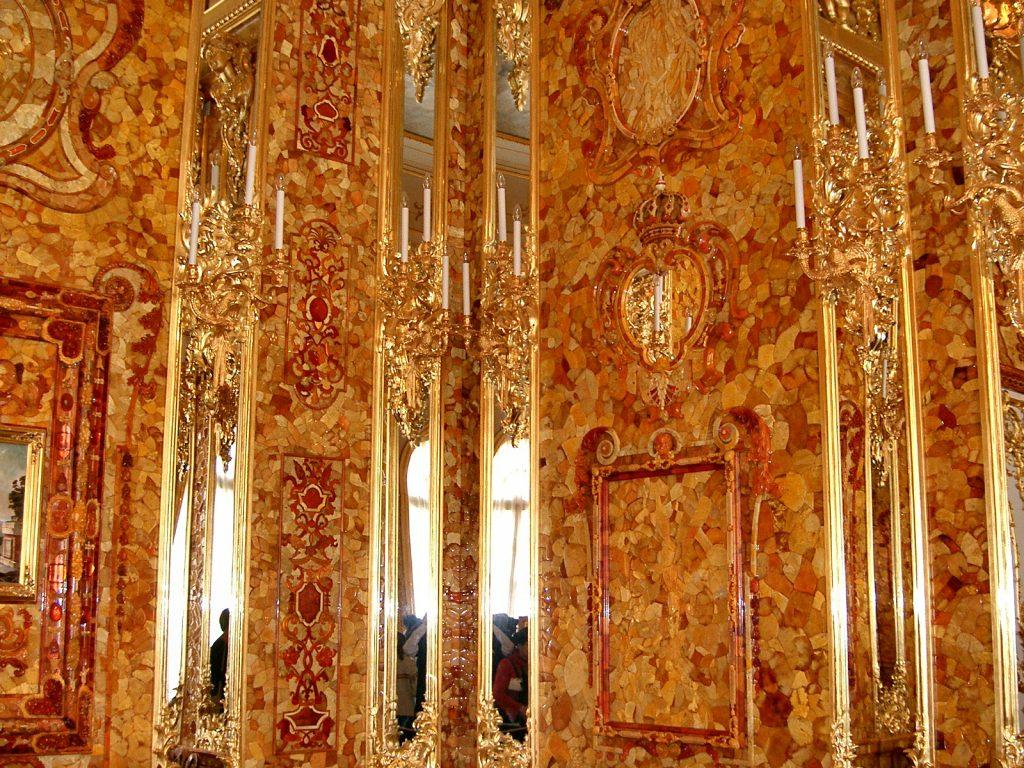 Оригинал Янтарной комнаты