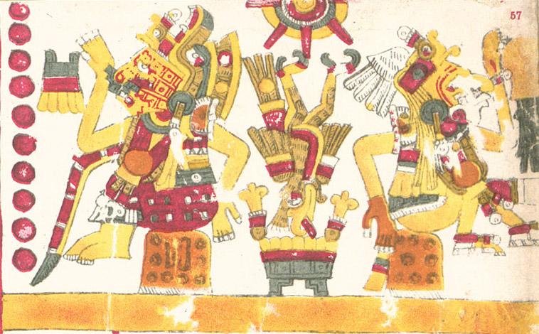 Шочикецаль - богиня любви ацтекской мифологии