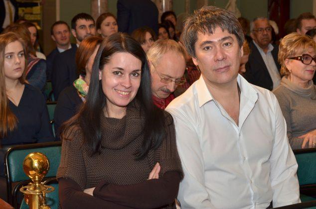На концерте Виолетты Егоровой