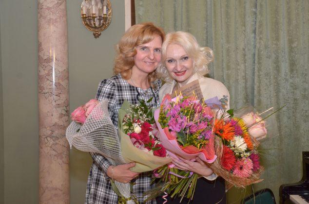 Виолетта Егорова и Галли Монастырева
