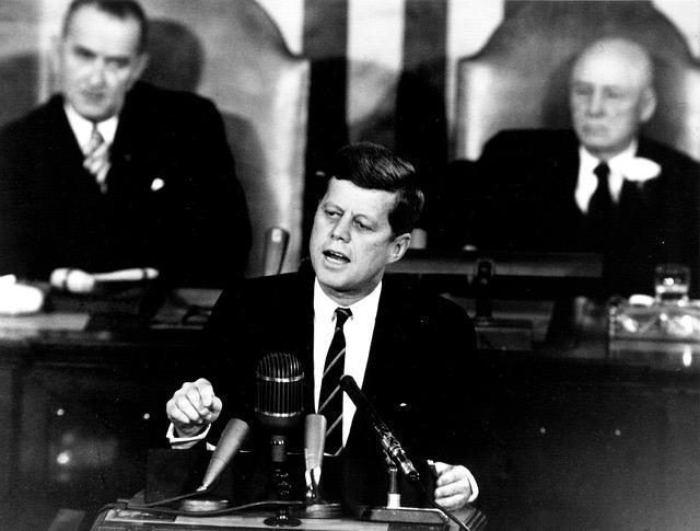 35-й президент США Джон Кеннеди
