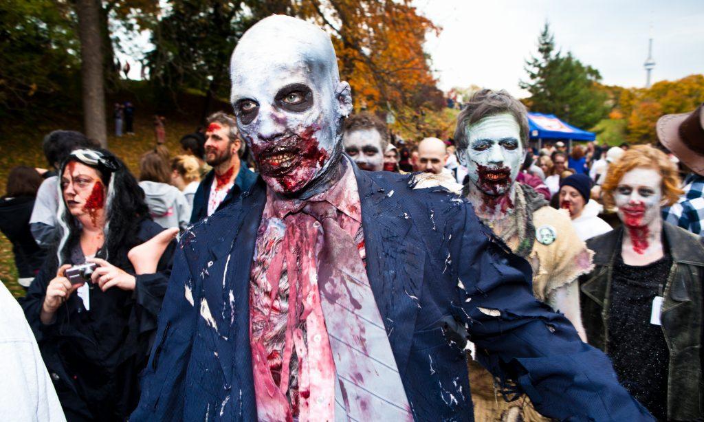 Прогулка зомби в Торонто, 2010 г.