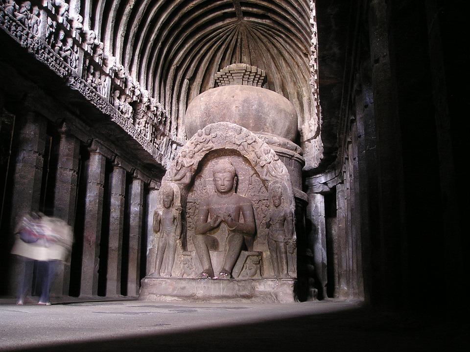 Индийский храм, святыня
