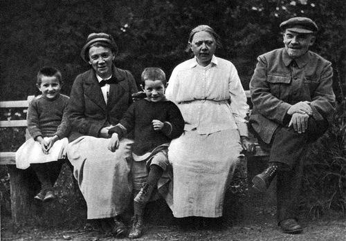 Ленин и Крупская