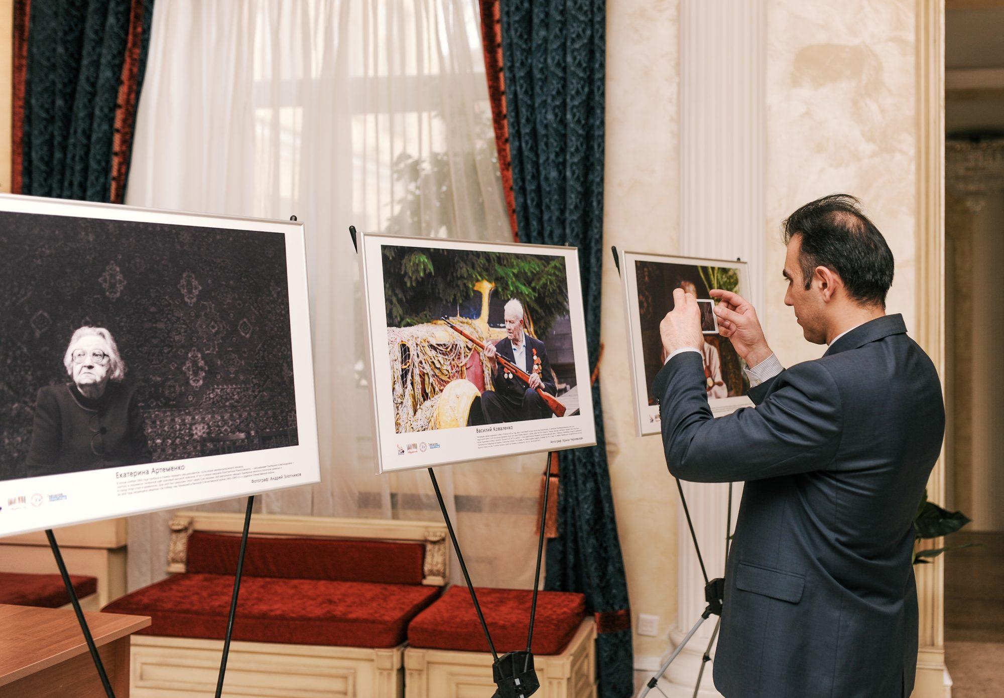Фотовыставка «Память в лицах героев войны»