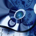 Часы, прошлое, настоящее, будущее