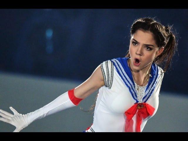 Российская фигуристка Медведева появилась в образе Сейлор Мун