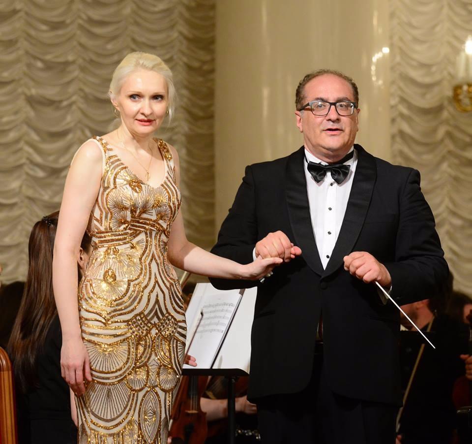Виолетта Егорова и Епифанио Комис