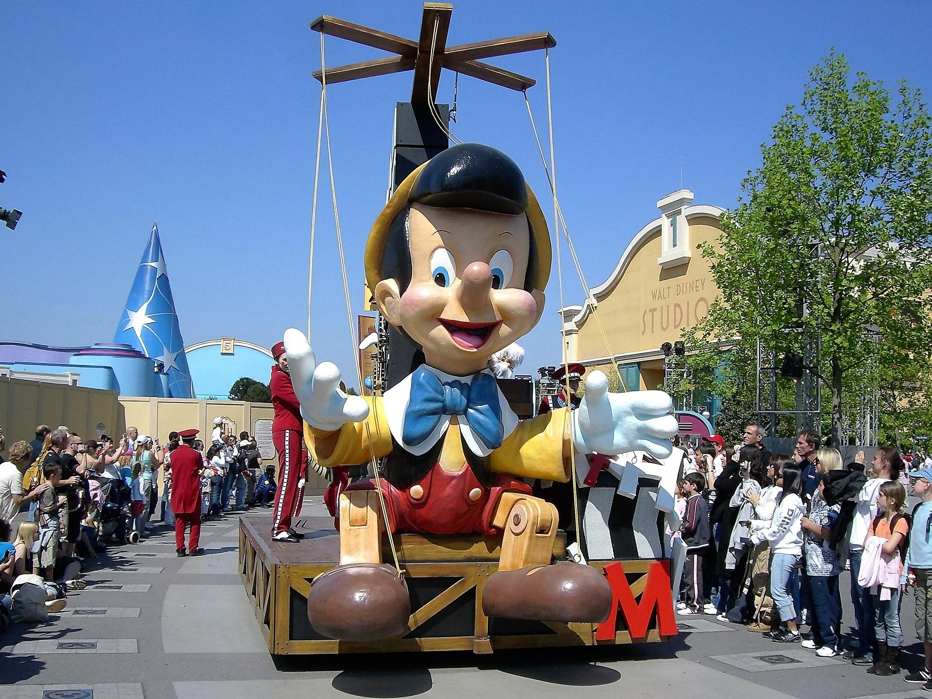 Пиноккио на параде Disney