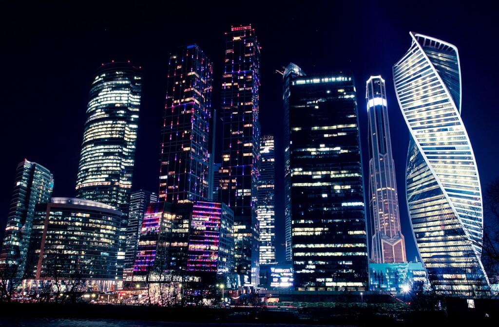 На одной из башен Москва-Сити задержан руфер-нелегал