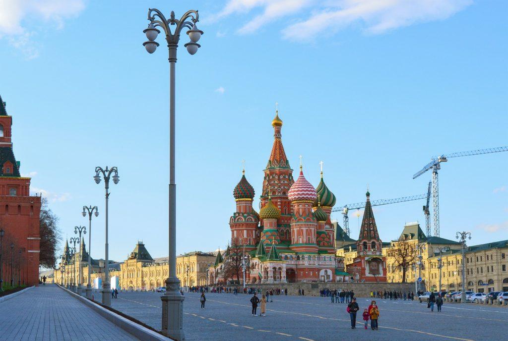 Храм Василия Блаженного, Красная площадь
