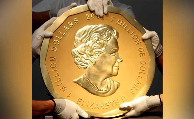 ВБерлине арестованы подозреваемые вкраже 100-килограммовой монеты измузея Боде