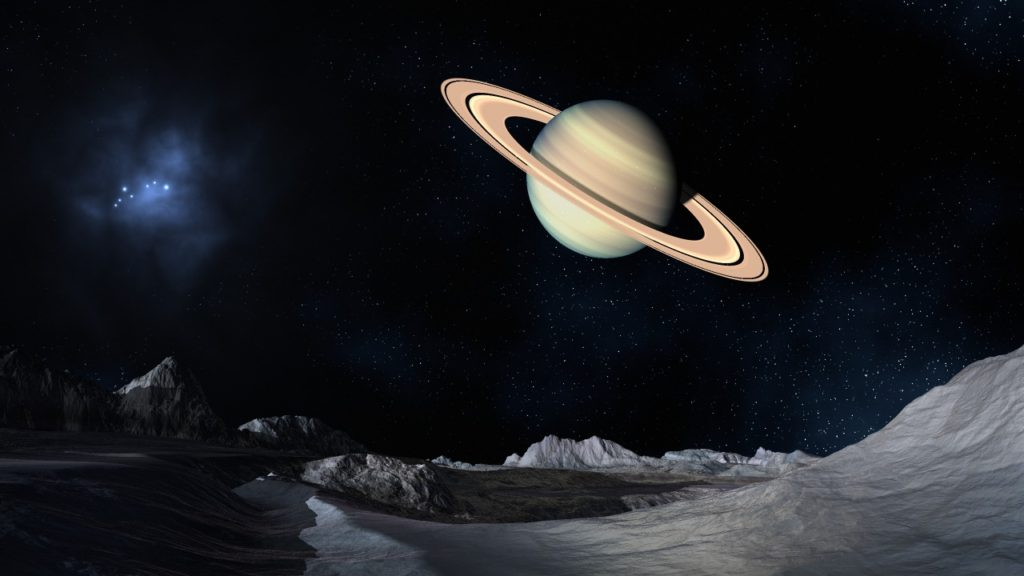 Учёные сообщили оналичии неизвестных следов наповерхности спутника Сатурна Елене