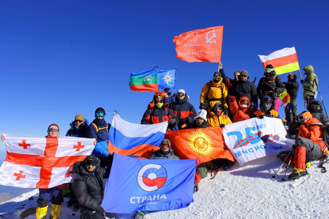 В России организуется международное массовое молодежное восхождение на Эльбрус