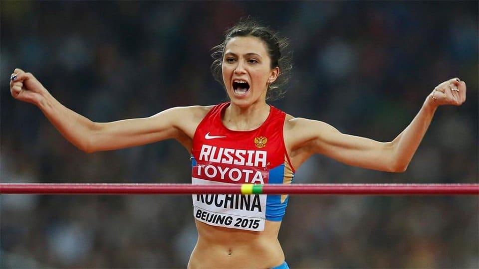 Россиянка Мария Ласицкене стала первой впрыжках ввысоту начемпионате мира