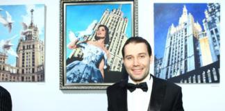 Даниил Федоров в театре Русская песня, фото взято с folkteatr.ru