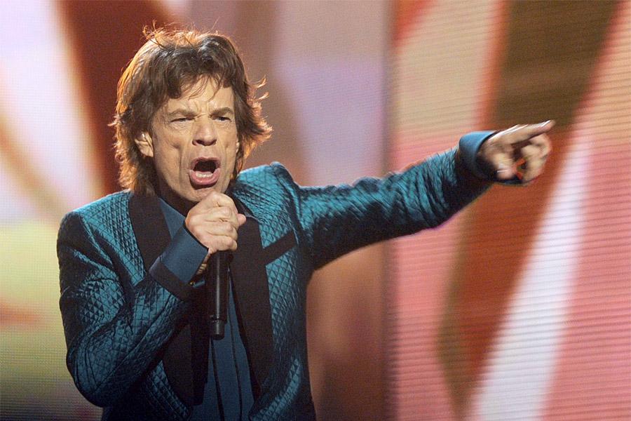 Вокалист рок-коллектива The Rolling Stones Мик Джаггер отмечает 75-летие