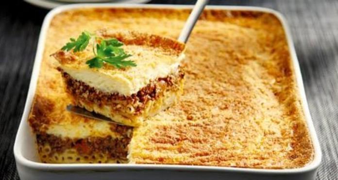 Макаронная запеканка по-гречески «Пастицио»: просто и вкусно