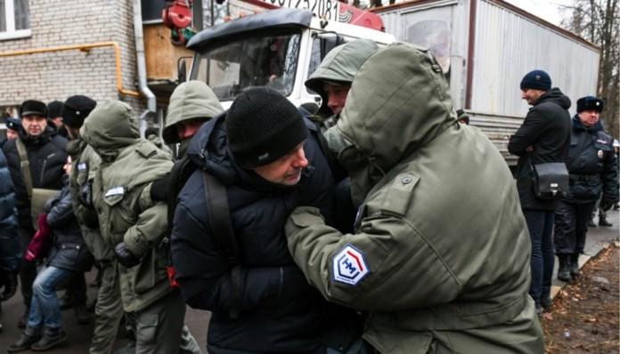 В Кунцево палаточный лагерь вырос в знак протеста против сноса пятиэтажек