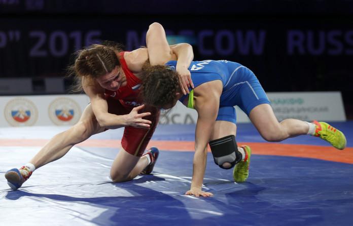 В Красноярске на Кубке Ярыгина мастерством блеснули мастерством борцы из Северной Осетии