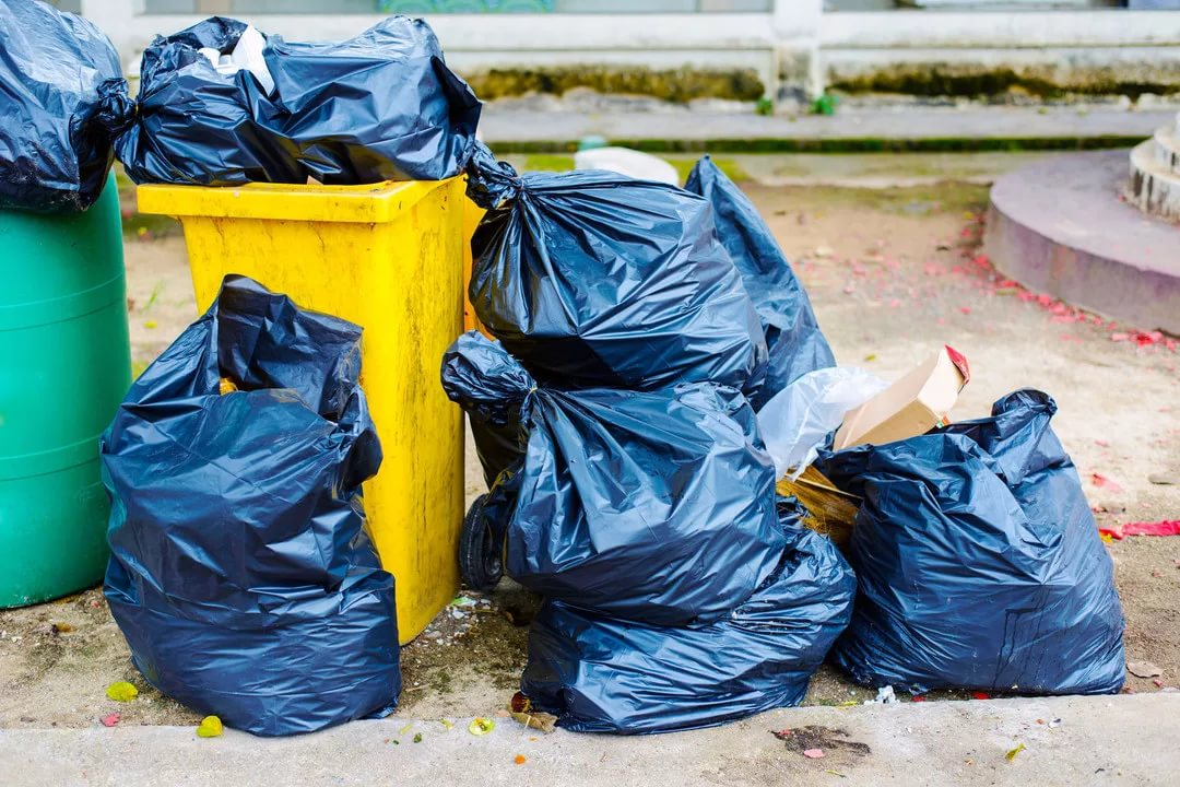 картинки мусорка много мусора фирменных цветах каждым