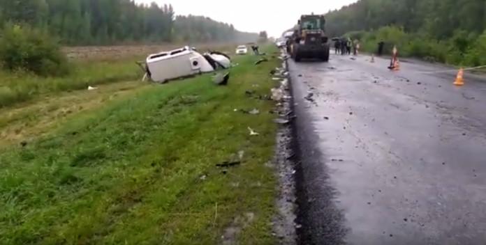 В Тамбовской области в страшной аварии погибли 5 человек